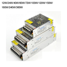 AC 100V-240V 12V 5A 60W Switching Switch Power Supply for LED Strip light Lights цена и фото