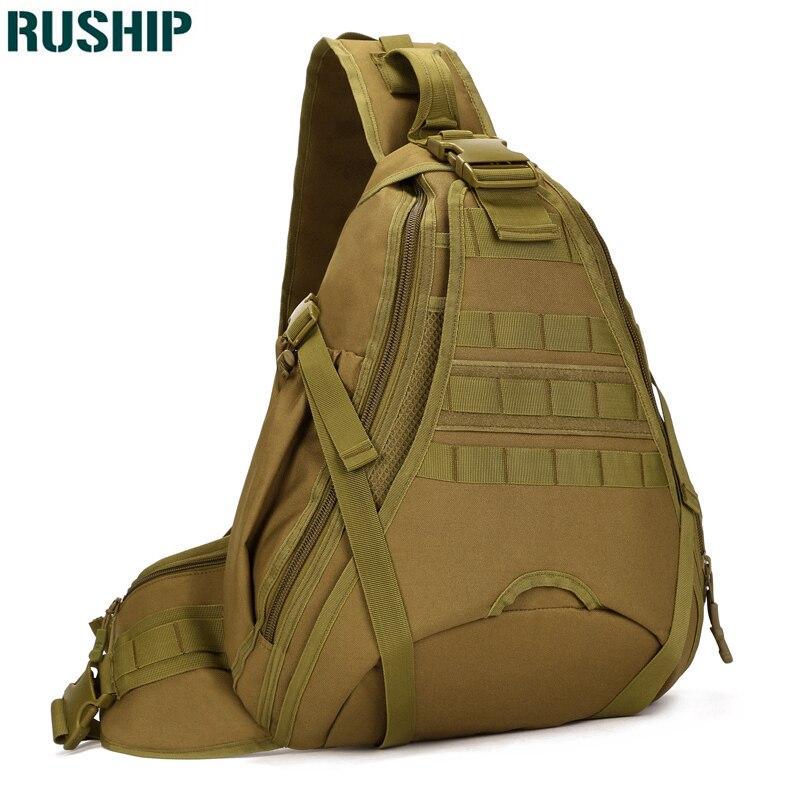 Hommes sac à dos grande capacité voyage une épaule chasse sac à dos Freelander sacs latéraux tactique poitrine paquet 14 pouces pochette d'ordinateur