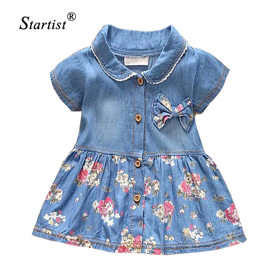 2017 Spring Summer Baby Dress Casual Style Baby Girls
