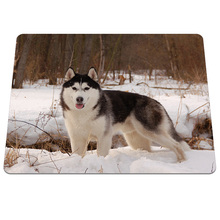 Cool Style Husky Dog Pattern Gaming Mouse Pad PC Computer Laptop Soft Rubber Mousepad Anti-slip Optical Mice Play Mat