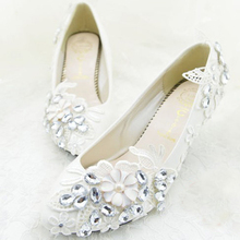 2015 Free Shipping Cheap Wedding Bridal Shoes Bridesmaid Shoes Middle Heel Shoes for Flower Girl Princess Party Evening Shoes