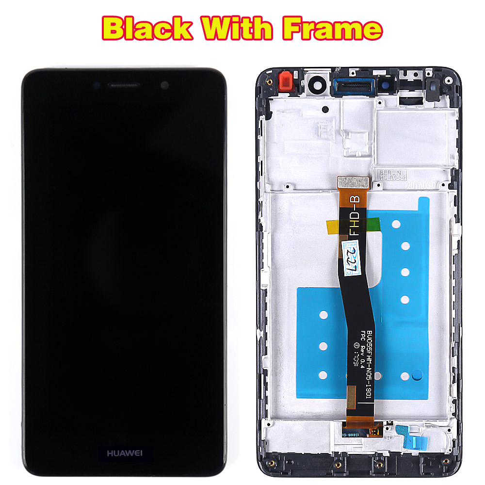 US $16 55 11% OFF|Huawei LCD Display For Huawei Honor 6X BLN L24 BLN AL10  BLN L21 BLN L22 touch screen Digitizer Assembly Frame with Free Tools-in