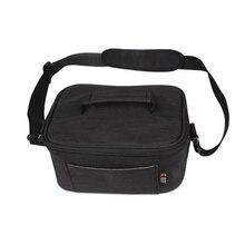 5pcs of  BUBM VR virtual reality 3D glasses Bag Box Simple style Single-shoulder bag protective bag Black