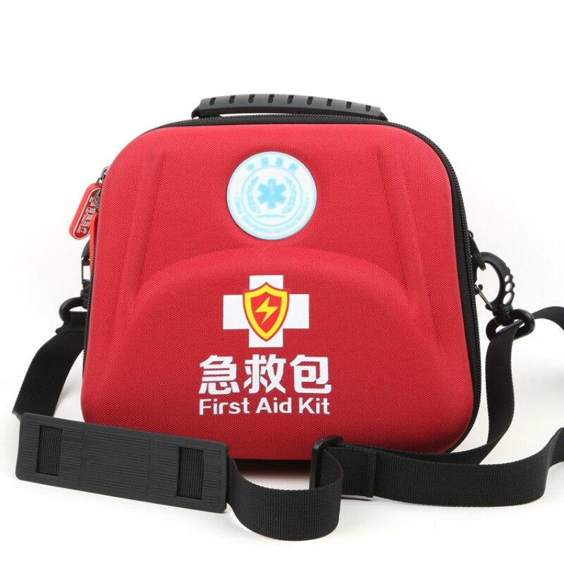 Professional EVA Waterproof Premium Nylon First Aid Bag  Emergency Survival Kit Shoulder Strap Separator For Camping Travel Bags
