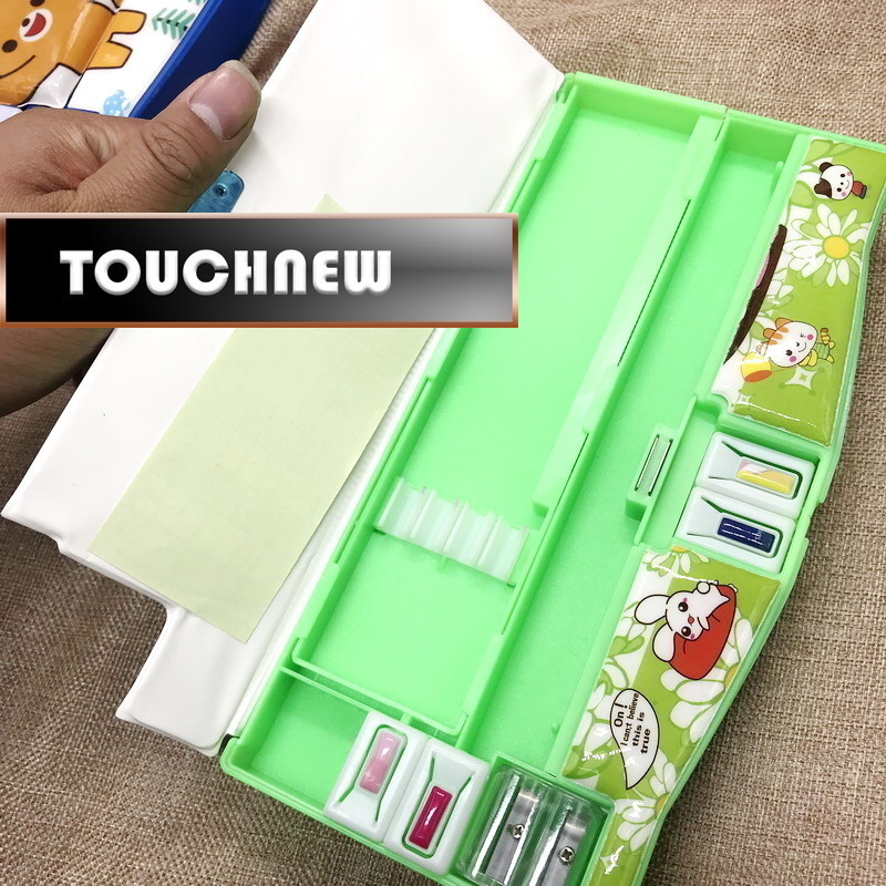 On sale Multifunction Case with Sharpener Calendar school supplies Students Pencil Box Escolar Papelaria Chancery creative multifunction automatic pencil case boy cute pupils pencil box escolar school papelaria penalties chancery calendars