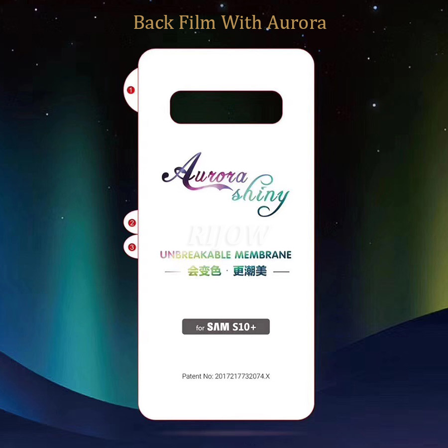 Invisible Diamond Back Film for Samsung Galaxy S10 S9 S8 Plus Glass Galaxy S10e 5G Note 10 9 8 Screen Protector Protective Film in Phone Screen Protectors from Cellphones Telecommunications