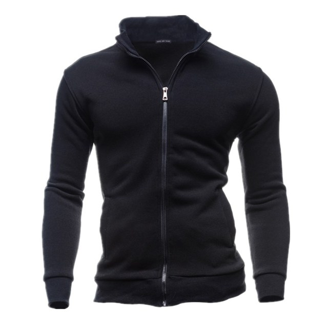 Leisure Square Collar Men Jacket