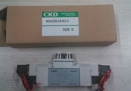 Japan CKD valve pneumatic valve solenoid valves 4GA229-06-E2-3 цена