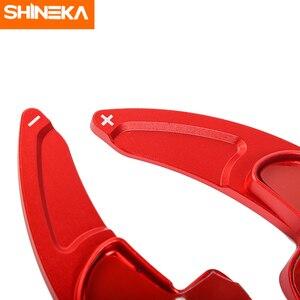 Image 5 - Shinekaインテリアモールディングダッジチャレンジャー 2015 + 車のステアリングホイールのシフトパドル用ダッジチャージャー 2015 +