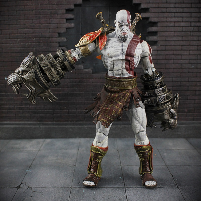 God of War 3 Ghost of Sparta Kratos PVC Action Figure Collectible Model Toy