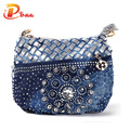 Famous designer bags 2016  fashion jean coin purse small bag  ladies vintage evening wallets women messenger bag