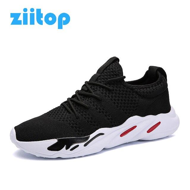 Hommes des bois chaussures de course sports de plein air Les souliers respirant Mesh supérieure r63jvDtaq1