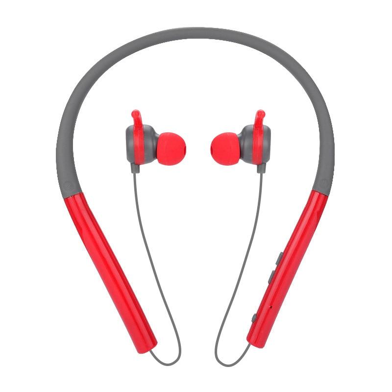 MS760A wireless headphones IPX7 waterproof sports Bluetooth earphones lightweight neckband headset with MIC noise-cancellation