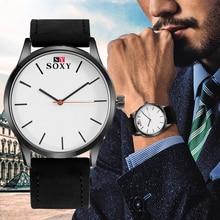 Relogio Masculino Quartz Watch Men Business Leather Watches Men's Clock Male Sports Wristwatch montre homme hodinky ceasuri saat цена и фото