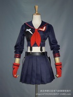 Custom made kill kill la ryuko matoi anime giapponese del partito di halloween cosplay costumi per le donne dress spedizione gratuita