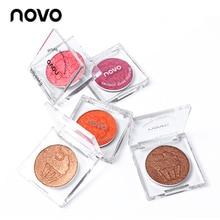 NOVO Brand Eyeshadow 15 Colors Smooth Ice Cream Glitter Eye Shadow Palette Shimm