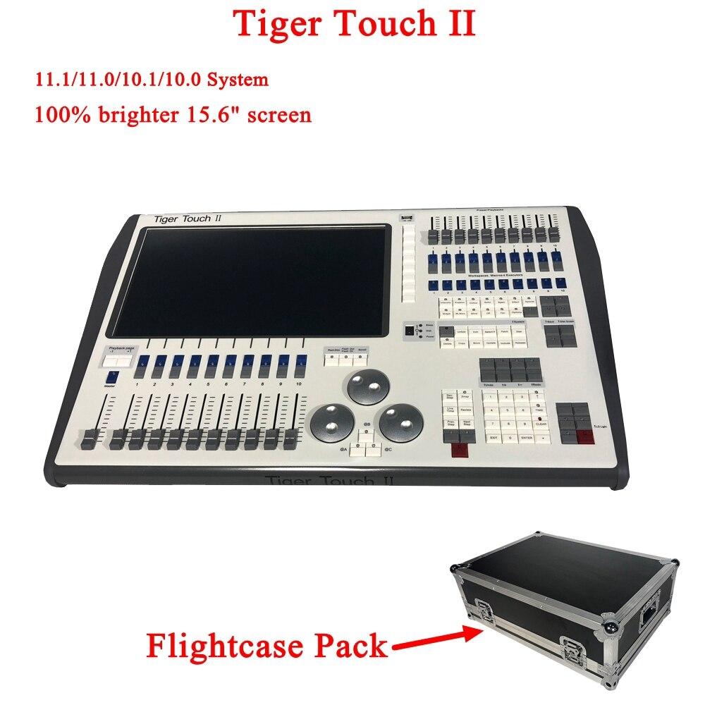 NOUVEAU Tigre Tactile II Contrôleur DJ DMX Équipements 512 Console éclairage de scène Pour led Par Tête Mobile Projecteurs Disco DJ Controlle
