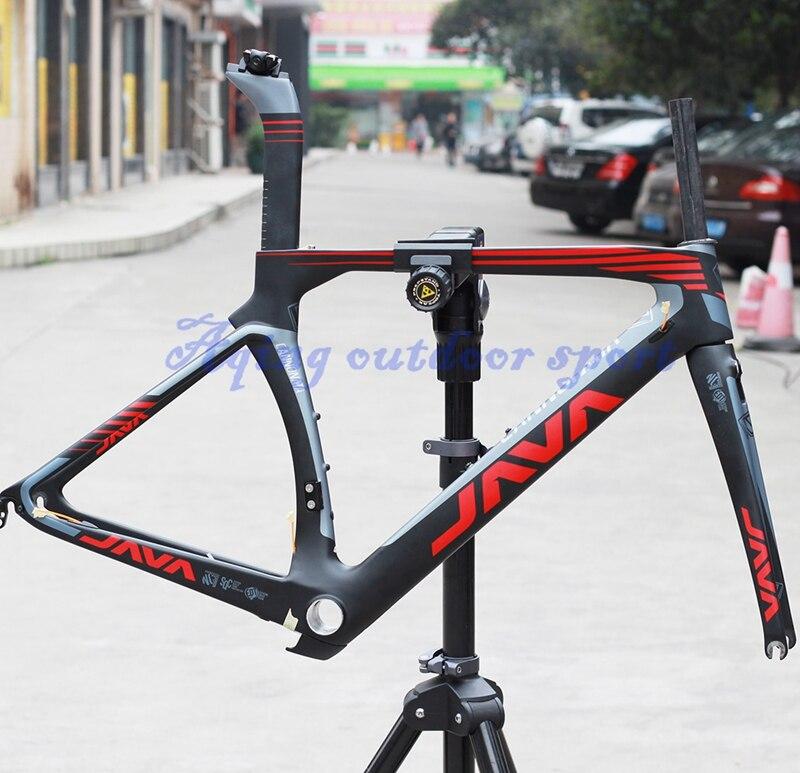aliexpresscom buy java cannonata carbon frame 700c road bike frameset fork seatpost 48cm support aero brake matte from reliable frame digital suppliers