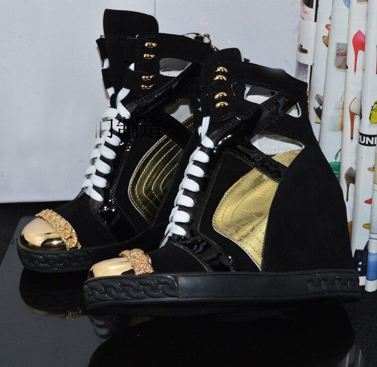 Per Lace Marca Hidden Le Zeppe as Casual Autunno Up Altezza Shown Moda Crescente Shown Piattaforma Ginnastica Scarpe Svonces As Donne Da Di Traspirante 4WfaFfn