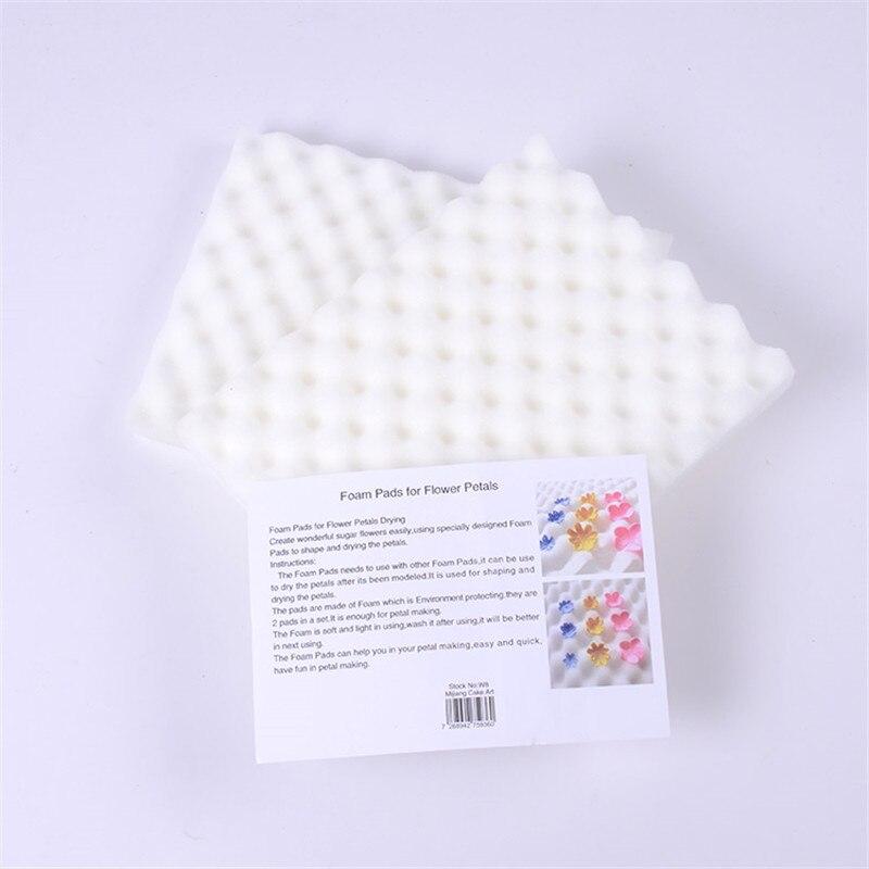 2 шт./компл. губка для выпечки помадки, пена, сушильный сахарный коврик для цветов