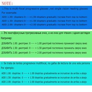 Image 2 - Belmon Multi Focale Progressieve Leesbril Mannen Vrouwen Randloze Verziend Unisex Dioptrie Bril + 1.0 + 1.5 + 2.0 + 2.5 + 3.0 RS790