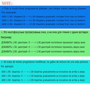 Image 2 - Belmon gafas de lectura graduales multifocales para hombre y mujer, lentes Unisex para presbicia sin montura, gafas de dioptrías + 1,0 + 1,5 + 2,0 + 2,5 + 3,0 RS790
