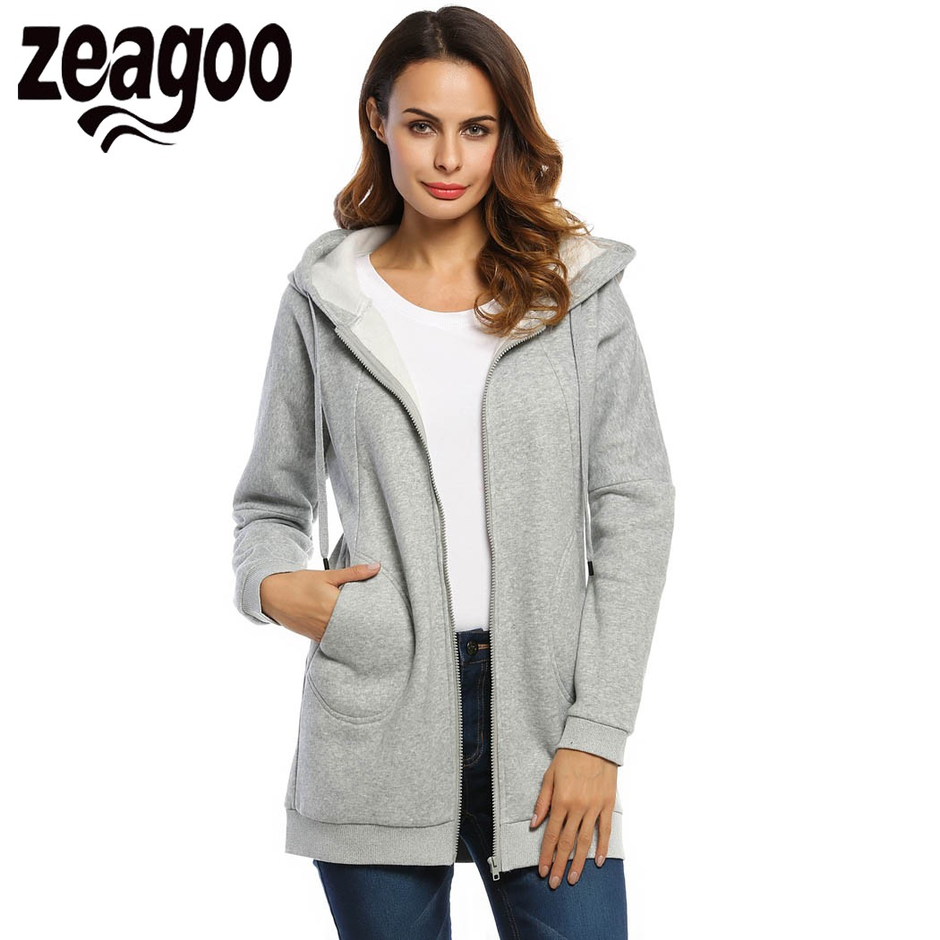 Long Fleece Coats Promotion-Shop for Promotional Long Fleece Coats ...