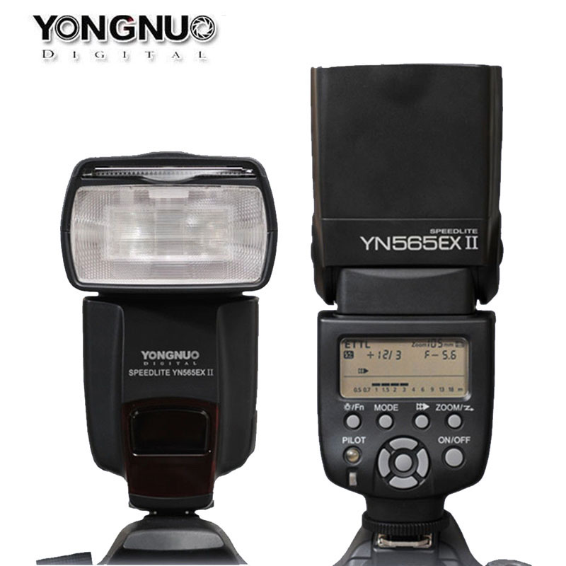 YONGNUO TTL Flash Speedlite YN-565EXII YN565EX II Speedlight for Canon 6D 7D 70D 60D 600D 650D 5DIII 50D 500D 550D 1000D 1100D 2017 new meike mk 930 ii flash speedlight speedlite for canon 6d eos 5d 5d2 5d mark iii ii as yongnuo yn 560 yn560 ii yn560ii