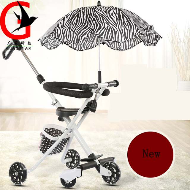 Baby baby tricycle slip artifact cart stroller baby stroller factory direct light XTYX-1