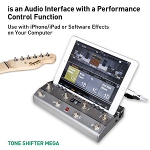 Image 2 - TS מגה 2 ב 1 Midi רגל בקר עבור גיטרה עם אודיו ממשק USB גיטרה הקלטה עבור iPhone iPad אנדרואיד מכשירי Mac מחשב