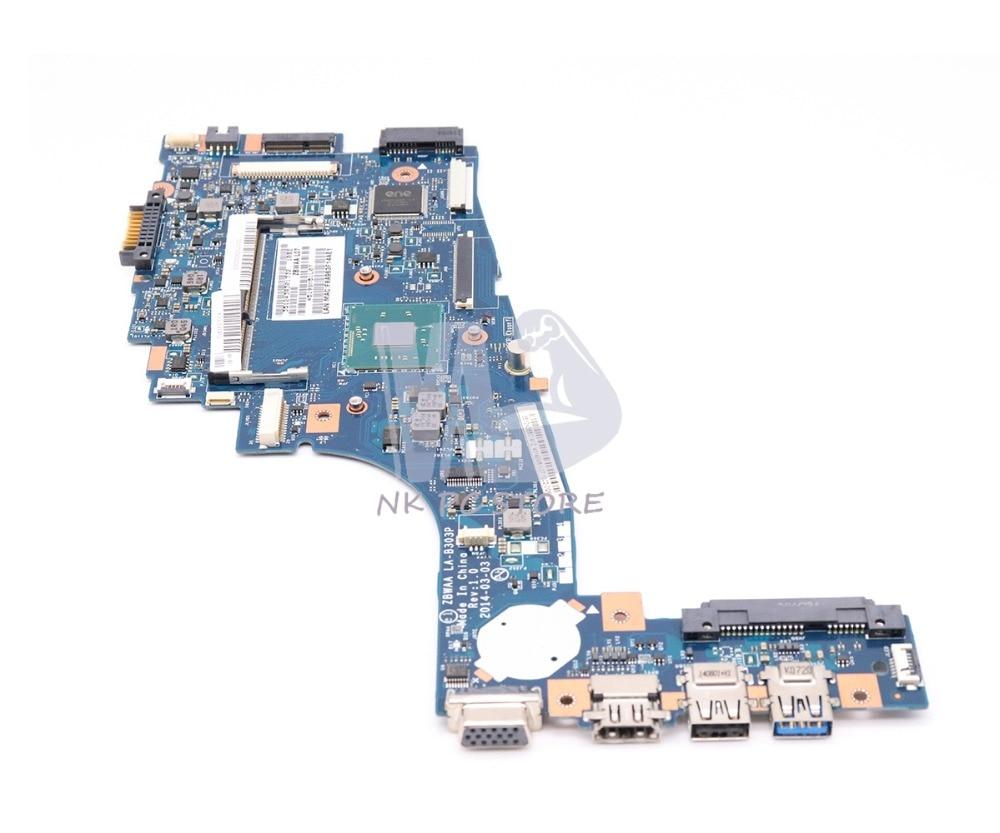NOKOTION New ZBWAA LA-B303P K000891450 Laptop Motherboard For Toshiba Satellite C55-B5202 C55 MAIN BOARD DDR3 combbind c55