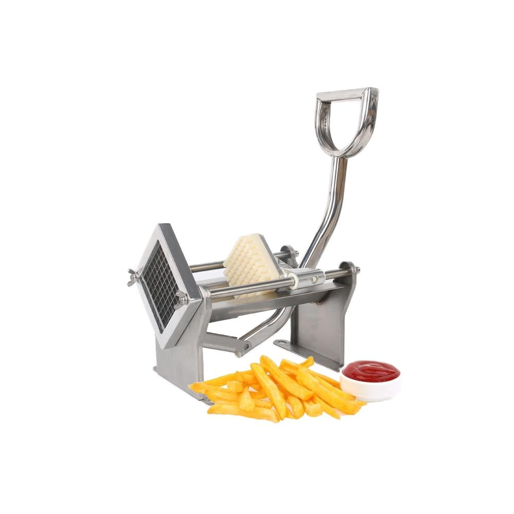 GZZT ручной резак для картофеля фри из нержавеющей стали MH005 для изготовления картофельных чипсов, овощерезка для фруктов, кухонные инструмен... - 4