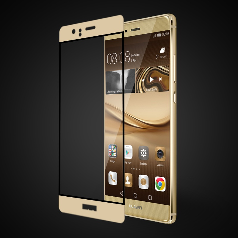 FEMA for Huawei P 9 3D <font><b>Curved</b></font> <font><b>Silk</b></font> <font><b>Printing</b></font> <font><b>Full</b></font> <font><b>Size</b></font> <font><b>Tempered</b></font> Glass Screen Protector Guard Film for Huawei P9
