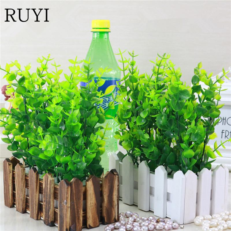 decoracin conjunto cerca de madera flor artificial planta verde artificial props disparar plantadas en macetas de