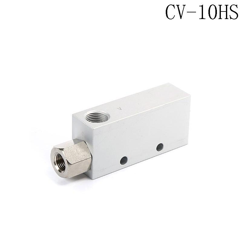 CV-10HS 46L/min Air Comsumption Vacuum Ejector Pneumatic Fitting 0.1-0.6Mpa scv 10 rc1 8 vacuum ejector smc type vacuum generator