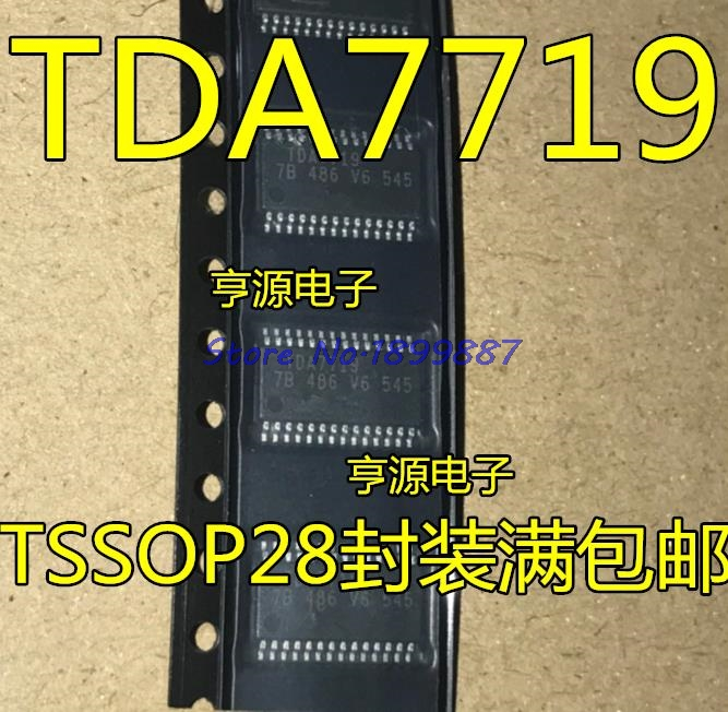 1pcs/lot TDA7719 IC AUDIO PROCESSOR CAR 28-TSSOP In Stock