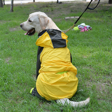 Pet Raincoat Waterproof Dogs Reflective Coat Jacket Clothes For Small Medium Large Labrador Rain Gear