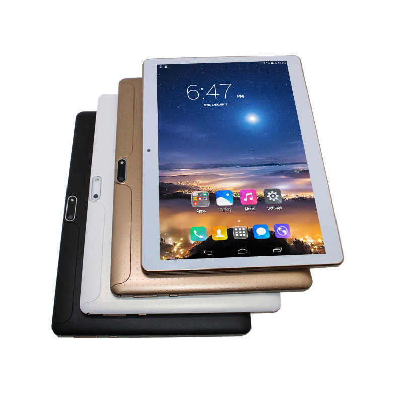 Glavey 10.1 インチ MTK6582 3 3g 通話タブレット IPS クアッドコア + デュアル sim + gps + 懐中電灯 + bluetooth + 1 グラム/16 グラム + アンドロイド 6.0