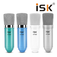 Microphone ISK AT100 Condenser Microphone For Computer Recording Studio Performance Network K Song Microphones Microfone Condens