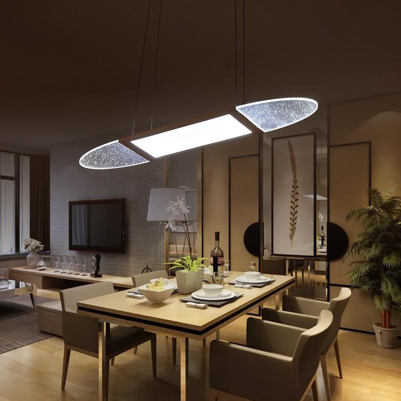 moderno led lampade a sospensione per la sala da pranzo soggiorno ristorante cucina luci ac90