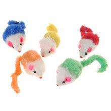 1PC Cat Gift Plush False Mouse Toys For Kitten Dog Funny Playing Pet Cat Mice Animal
