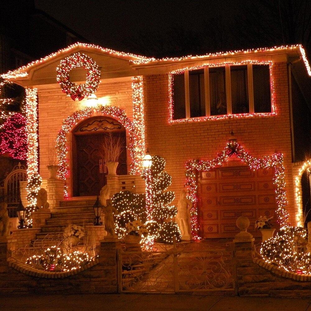 Led Weihnachtsbeleuchtung Baum.33ft Led Weihnachtsbeleuchtung Licht Baum 10 Mt 50led Xmas Party Urlaub Led String Licht Dekorative Hochzeit Beleuchtet Fee Led Girlande