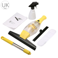 Convenience Wireless Window Cleaner Window Vacuum Cleaner With A Handle And Pressure Sprayer Affordable