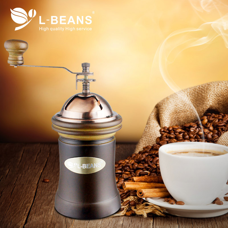 Coffee Grinder Espresso Coffee Grinder Hand Coffee Grinder Household Mini Manual Coffee Mill Beans Nuts Grinder italy coffee beans italian flavor espresso beans fresh roasted 227 g bag women men tea