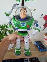 Buzz Lightyear Giocattoli Parlare Buzz Lightyear Woody Jessie Pvc figura de  acción juguete colección 12
