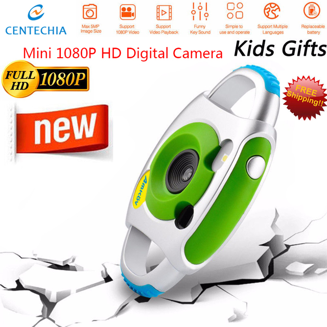 Cute Mini Camera Baby Kids Hanging Digital Camera Photography Prop Decoration Children Educational Toy Birthday Christmas Gifts