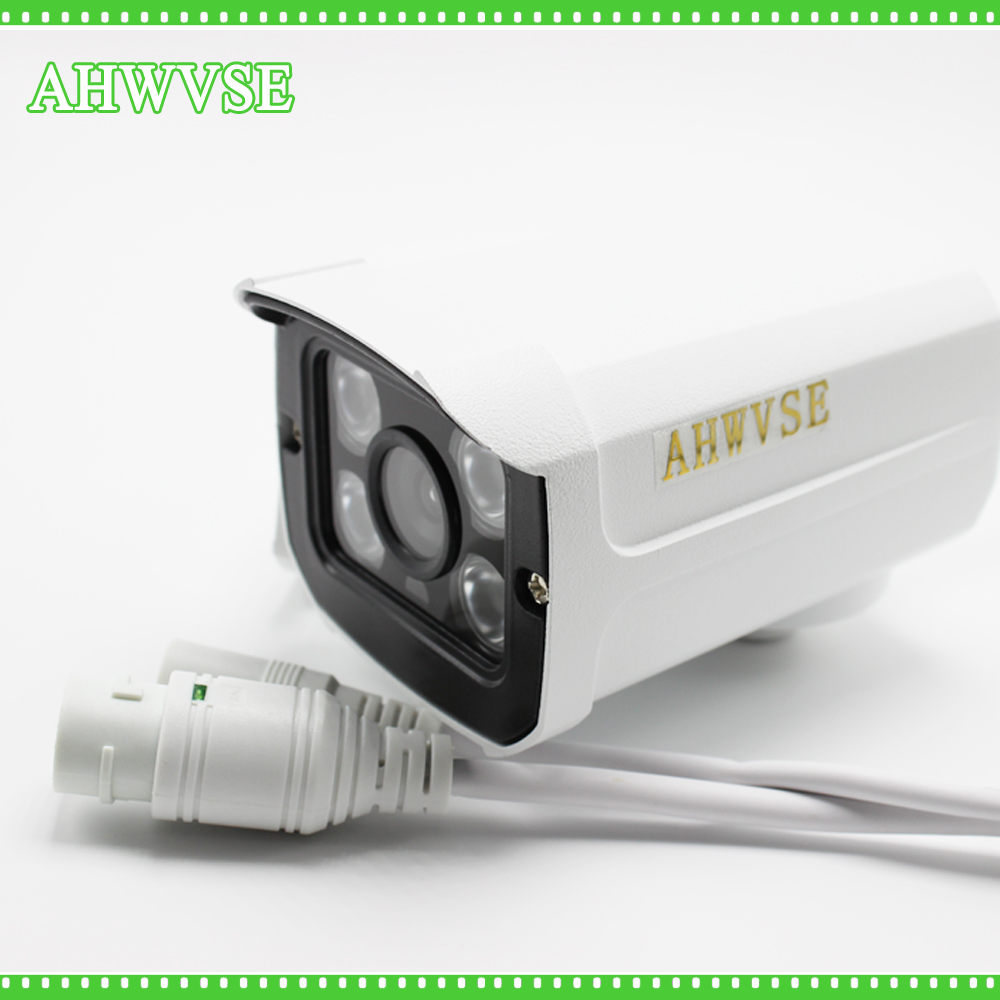 AHWVSE Outdoor 4CH POE IP Camera Kit 4 Channel 1080P NVR with 4pcs 2MP IP Cam Free Shipping