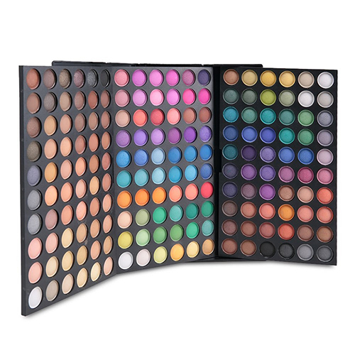 Professional 180 Cores Matte Shimmer Eyeshadow Palette de Maquiagem Cosméticos Kit