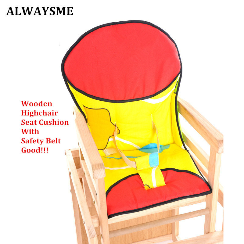 Alwaysme New Baby Kids Highchairs Cushion Pad Mat Booster Seats Cushion Pad Mat Feeding Chair Cushion Pad Stroller Cushion Mat