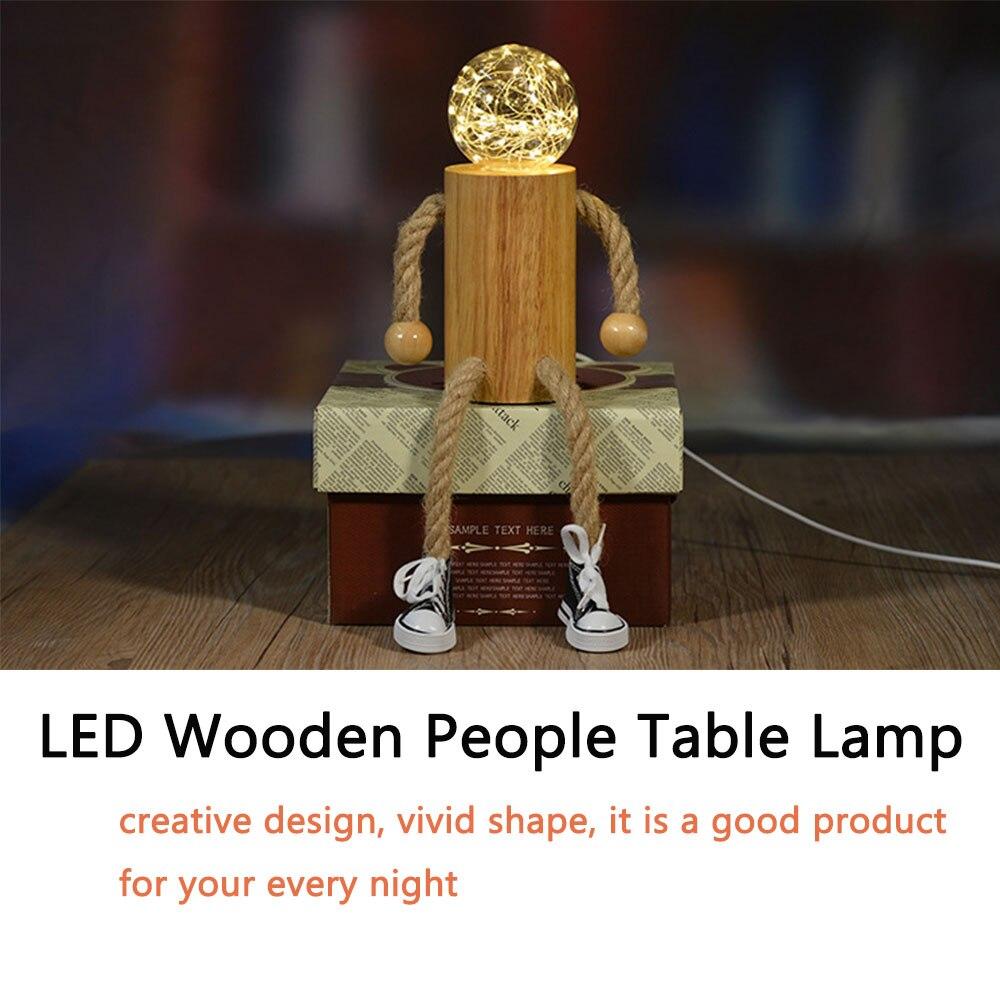 de madeira lampada mesa led usb 03